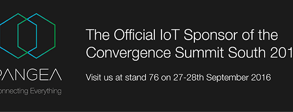 Pangea is the Official IoT Sponsor of Convergence Summit South 2016