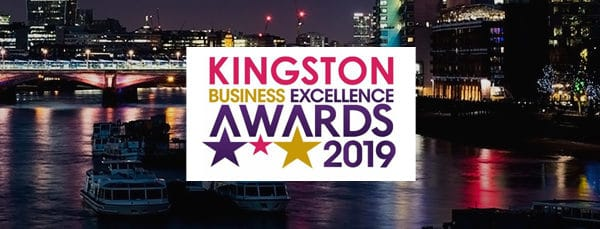 Scoring a triple shortlisting at the Kingston Business Excellence Awards 2019