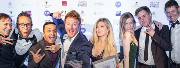Our triple win and a surprise title: the Kingston Business Awards 2019