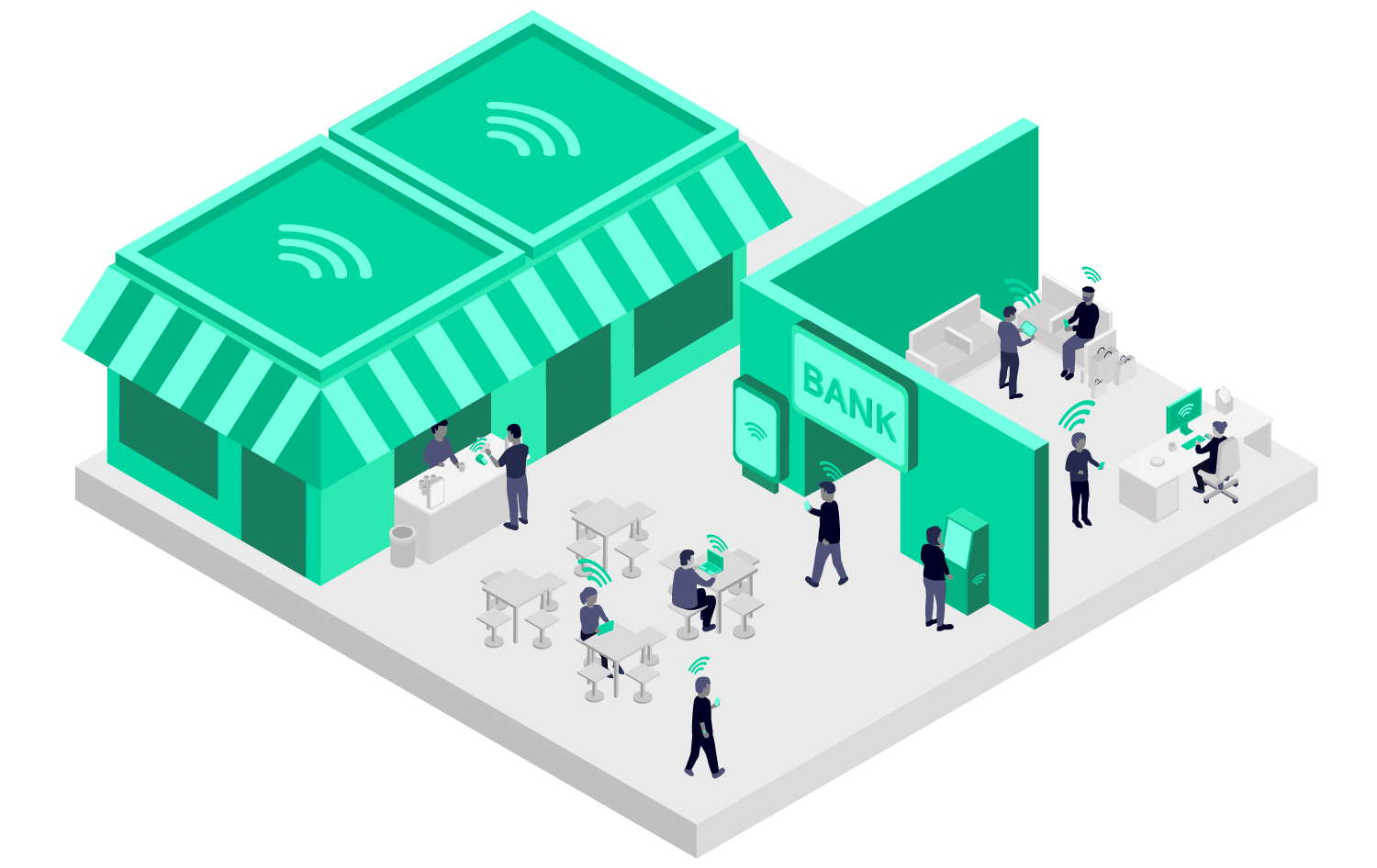 5G IoT in financial services