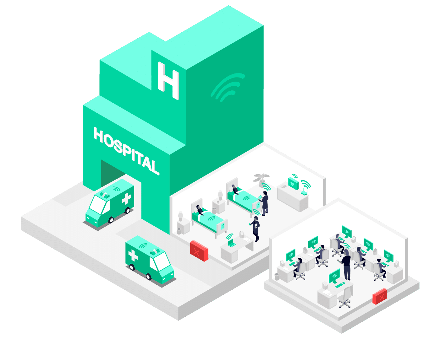 Pangea On-demand 4G mobile backup for Hospitals and Schools