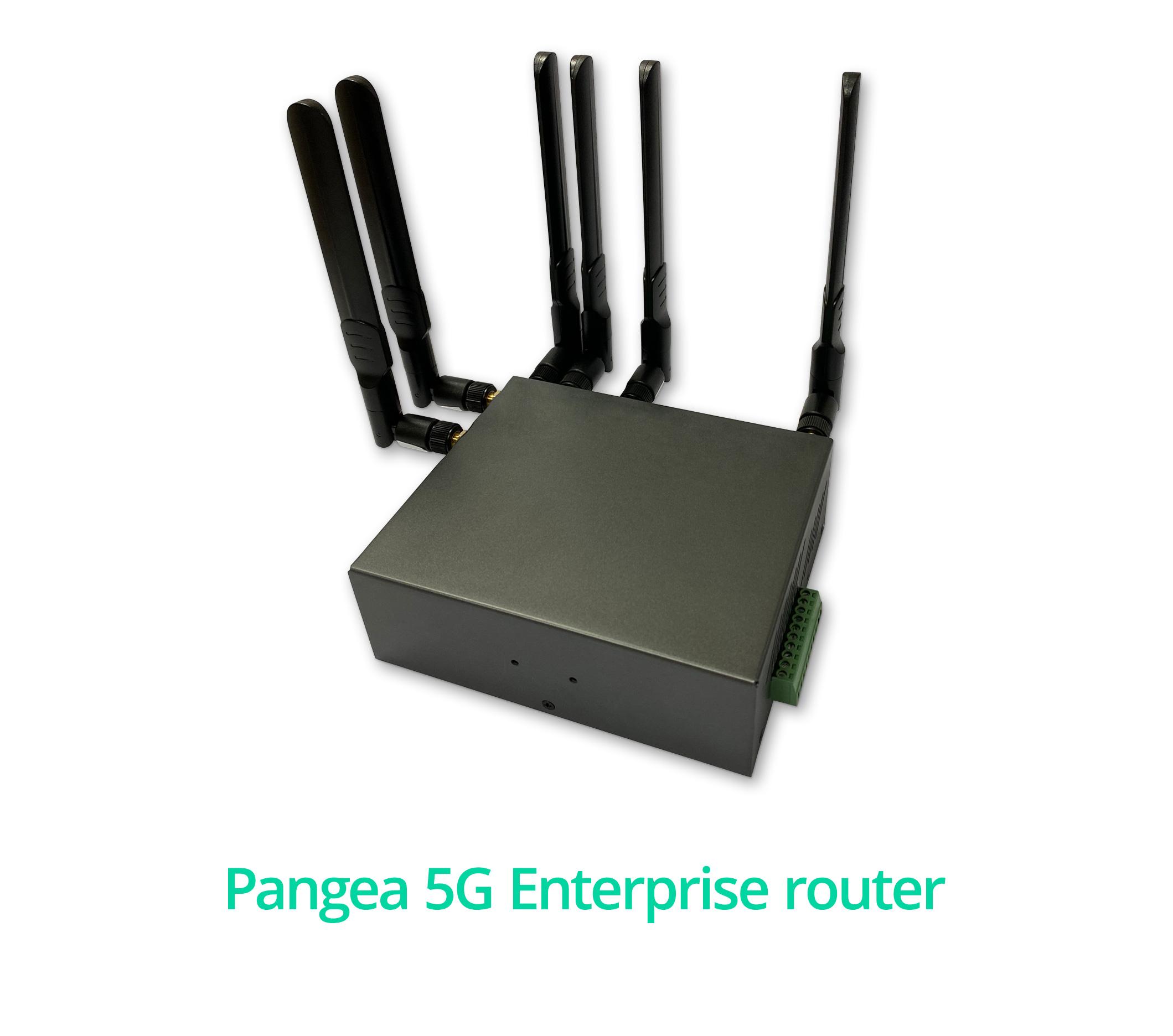 Pangea 4G Enterprise router - Pangea 5G connectivity Enterprise router link