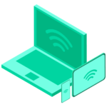 Pangea 4G Mi-Fi Connects 32 devices icon