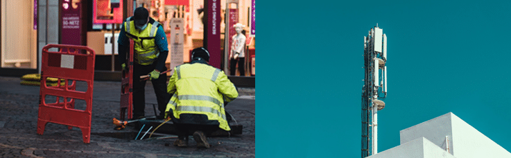 Pangea IoT blog: ADSL vs. 4G mobile broadband images