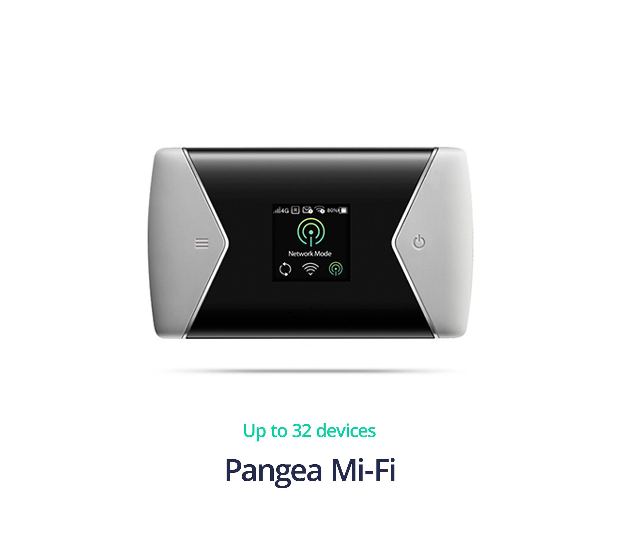 Pangea 4G Enterprise router - Pangea Mi-Fi link