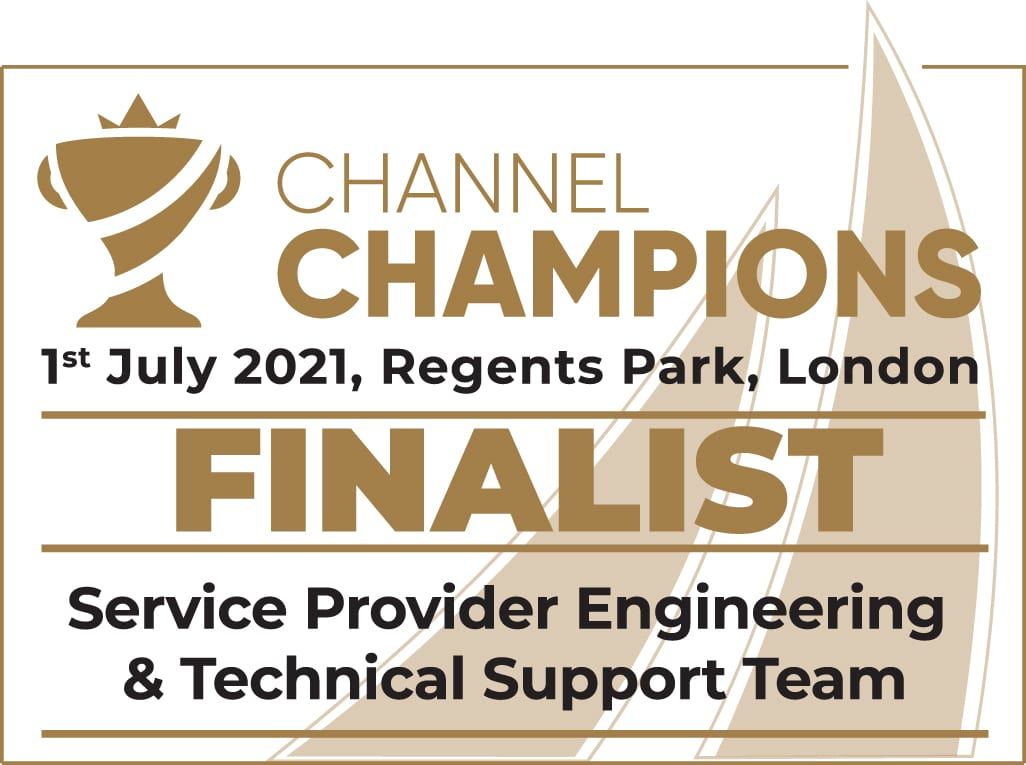 Pangea shortlisted for 4 Comms dealer awards 2021 - Engineering & Technical Support Team of the Year