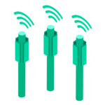 Multi-network SIM cards connect to the best network icon