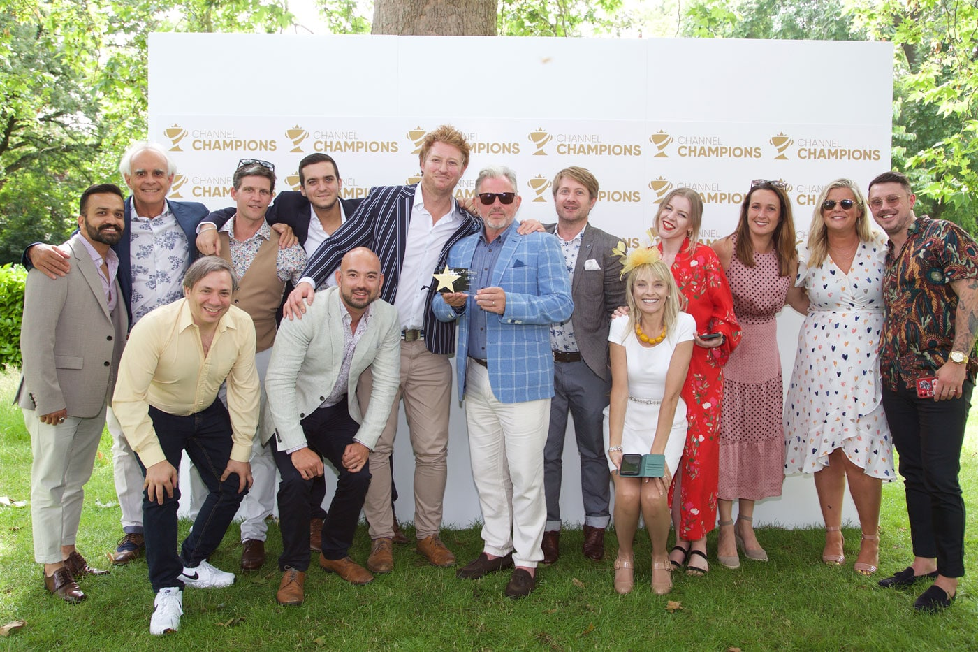 Pangea IoT News - Comms Dealer Channel Champions 2021 Winning team