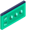 Icon - Monitor data usage to gain mobile data revenue