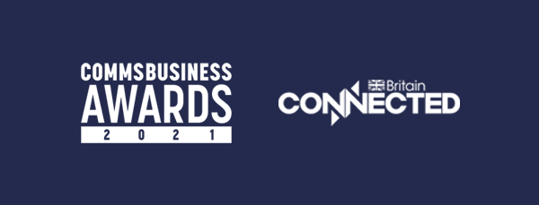 Finalists at the Connected Britain and Comms Business Awards 2021