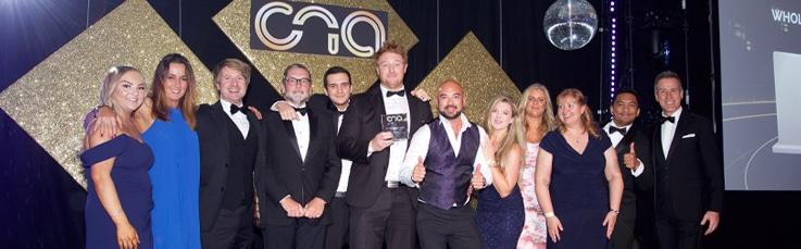 Pangea IoT News - Comms National Awards 2021 Win banner